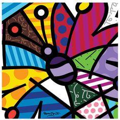 Romero Britto- Butterfly