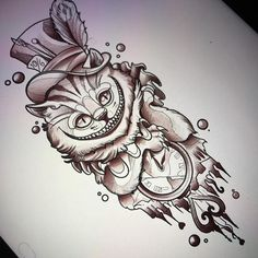 We're All Mad Here ! #NeatTattoosIWouldHave