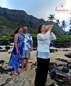 A ceremony I performed at Makapuu on the East side of Oahu.