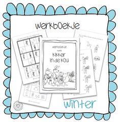 Werkboekje | Thema WINTER Winter Nail Designs, Winter Nail Art, Preschool Lessons, Preschool Learning, Frog Theme Preschool, Winter Theme, Fall Winter, Speech Language Therapy, Close Reading