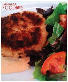 #PanamaFoodies - Crab Cake • www.panamafoodies.com | #FOODIES #PANAMA #YUM #Market