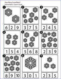 math worksheet : 1000 images about snowflake theme on pinterest  snowflakes math  : Snowflake Math Worksheets