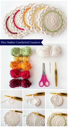 70 Easy Free Crochet Coaster Patterns for Beginners - Page 7 of 14 - DIY & Crafts