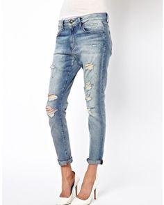 ASOS Joes Jeans Slimline Boyfriend Jeans