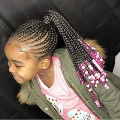 95 Best Braided Hairstyles for Girls, Black Kids Hairstyles, How to Create A Zipper Braid Updo Hairstyles, Pin by Tasha Westbrook On Braids & Twists, top 20 Best Hairstyles for Black Girls In 2019 ▷ Legit. Little Girl Braid Styles, Cute Little Girl Hairstyles, Black Kids Hairstyles, Kid Braid Styles, Little Girl Braids, Girls Natural Hairstyles, Baby Girl Hairstyles, Black Girl Braids, Kids Braided Hairstyles