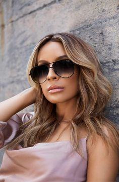 911b8d58df Main Image - Quay Australia x Desi Perkins High Key Mini 57mm Aviator Sunglasses  Quay Sunglasses