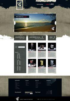 Cool webdesign inspiration #webdesign #UIContest
