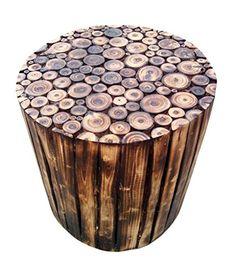 The Woods Hut Round Log Stool (Wood) The Woods Hut https://www.amazon.in/dp/B00RLH1MC0/ref=cm_sw_r_pi_dp_U_x_xrLNAbV9HNRJA