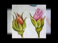 A melhor forma para aprender a pintar uma rosa - YouTube