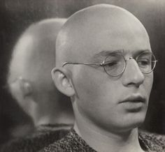 Swiss painter and Weimar Bauhaus faculty member Johannes Itten, circa 1930