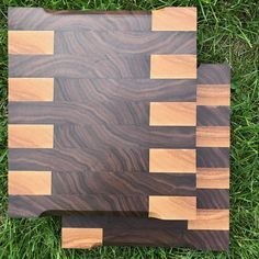 Woodworking Projects Butcher Block Cutting Board - End grain walnut and ash cutting board with unique figure and pattern. 2 boards available. Learn Woodworking, Woodworking Furniture, Custom Woodworking, Woodworking Projects Plans, Resin Furniture, Furniture Nyc, Furniture Websites, Furniture Dolly, Popular Woodworking