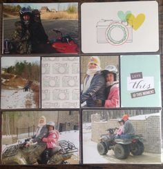Love this #scrapbook layout