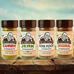 Seasonest Ghosted Variety 4Pack ORGANIC GHOST PEPPER SALT Spice Gift SetChicken RubBBQ and Seasoned SaltVeganPaleoSoul FoodCajunJerkCurryVeganGhost Pepper Sea SaltGhost Pepper Seasoning >>> See this great product.