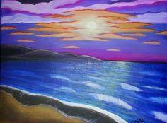#atardeceres by Carla Siri #DMAgallery Pintura