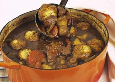 7 Steps to Making Hearty Beef Stew and Suet Dumplings
