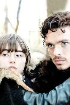 Game of Thrones:  Bran Stark and Robb Stark