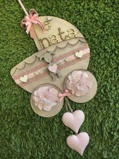 Due Punti Handmade, hobbystica a Treviso Babyshower, Nursery Signs, All You Need Is Love, How To Make Bows, Shabby Chic, Presents, Gifts, Handmade, Etsy