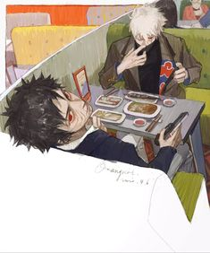 Art And Illustration, Pretty Art, Cute Art, Anime Manga, Anime Art, Tamako Love Story, Wow Art, Naruto Art, Aesthetic Art