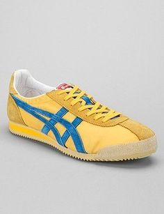 Happy Feet: 15 Pairs of Bright and Bold Sneakers: Tiger Corsair Vintage Sneaker, $64.99, Asics, urbanoutfitters.com