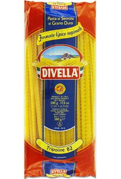 Tripoline pasta from Divella