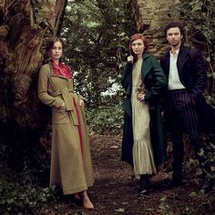 Vogue meets Poldark& leading trio - Aidan Turner, Eleanor Tomlinson and Heida Reed Demelza Poldark, Ross Poldark, Poldark Cast, Poldark 2015, Eleanor Tomlinson, Girl Photo Shoots, Girl Photos, Heida Reed, Poldark Series