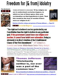 "In god deists trust? https://www.pinterest.com/pin/329466528969994602/  ""The right not to believe is no less protected by our Constitution than the right to believe in any particular god. If the government cannot favor one religion over another, it cannot favor belief over rationalism. Doing so obviously is in direct violation of the Establishment Clause of the First Amendment."" - Jeff Schweitzer, Scientist and former White House Senior Policy Analyst"