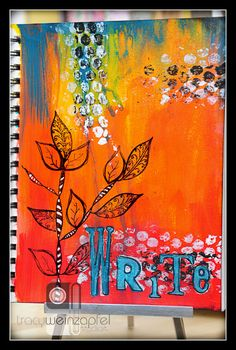 """""""Write"""" By Tracy Weinzapfel                              …"""