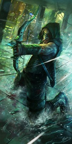 The Last Arrow - Lap PunCheung. Not a follower of arrow but this is pretty cool.