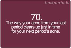 Period Problem #70 I thought it was only me @bianca renteria