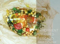 Parchment Wrapped Talapia