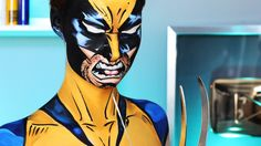 Comic Book Wolverine Makeup Tutorial (Marvel)