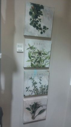 Brackett & Company. Herbal prints