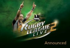 Rugby League Live 2 game for ps3