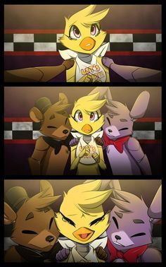 The next FNAF comic is finished! sorry that i take  long for drawing FNAF or Fangle  but don't worry i will continue for it!   Page 5: cristalwolf567.deviantart.c...