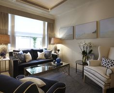 Katharine-pooley-interiors-traditional-living-room Knightsbridge Living Room