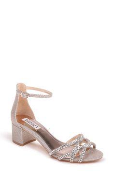beaa2812bf Women's Badgley Mischka Sonya Block Heel Sanda - Metallic Badgley Mischka,  Block Heels, Heeled