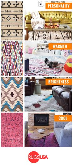 Give your floor an extreme makeover on a budget! Rugs USA houses the largest collection of rugs in every color, size and pattern to match your home decor -- at up to 80% OFF retail prices! Get huge savings on your perfect rug now + Get FREE Shipping!