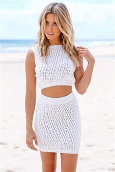 Knitted Top and Bottom | SABO SKIRT