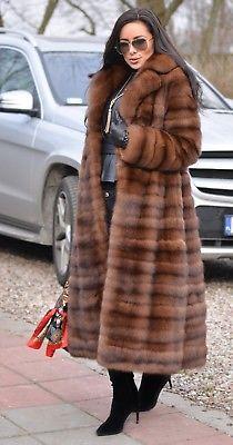 9059bbf749b67 New barguzin russian sable fur long coat clas of jacket mink fox lynx  chinchilla
