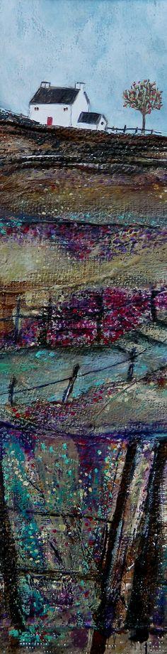 ''Down the path toward the paddock'' by Louise O'Hara