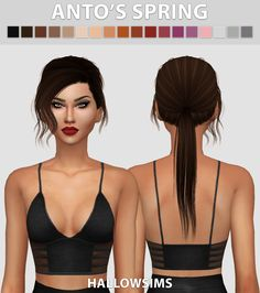 Anto's Spring - Comes in 18 colours - Smooth bone assignment. - Hat compatible. - All LOD's. - Few transparency issues. - Mesh credits to…