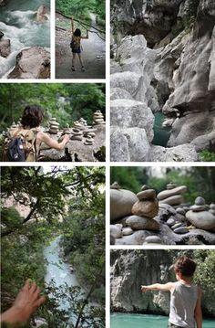 Randonnée dans les Gorges du verdon sentier de l'Imbut et sentier Vidal très aventure Provence Topo et Carte détaillée Niveau difficile !
