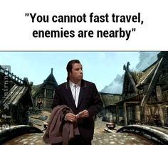 uhhh... what enemies? #games #Skyrim #elderscrolls #BE3 #gaming #videogames #Concours #NGC