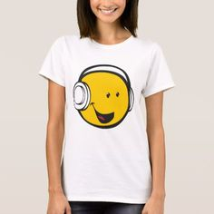 Shop Headphones Emoji T-Shirt created by EmojiClothing. Personalize it with photos & text or purchase as is! T Shirts For Women, Clothes For Women, Clipart, Wardrobe Staples, Shirt Style, Fitness Models, Shirt Designs, Headphones, Mens Tops