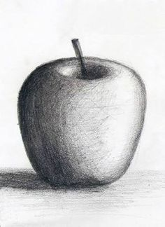 62 charcoal fruits ideas d pencil drawings, drawings ve art Art Drawings For Kids, Art Drawings Sketches Simple, Realistic Drawings, Easy Drawings, Shading Drawing, Pencil Sketch Drawing, Pencil Art Drawings, Nose Drawing, Pencil Shading Techniques