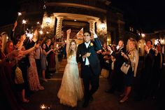 Bright Sparklers Particularly suited for an evening celebration, this is a wonderful way to celebrate the special day.