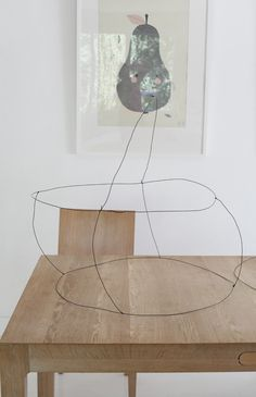 DIY lampshade wire structure