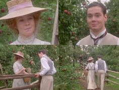Anne and Gilbert. Anne Of Green Gables Anne Of Avonlea, Road To Avonlea, Anna Green, Anne Of Green, Anne Shirley, Jonathan Crombie, Megan Follows, Gilbert Blythe, Gilbert And Anne