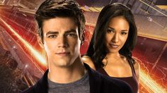 The Flash - Grant Gustin - Barry Allen - Candice Patton - Iris West