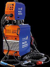 Das Schutzgasschweißgerät Profi 370 Syntec Multi-Puls ist eine stufenlos regelbare hochleistungs MIG/MAG-Pulsanlage mit Wasserkühlung und überragenden Schweißeigenschaften.